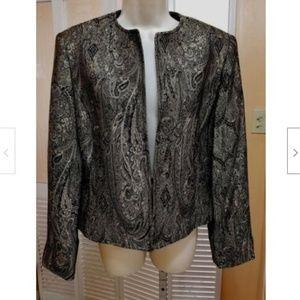 Jones New York Ladies Elegant Tapestry Jacket